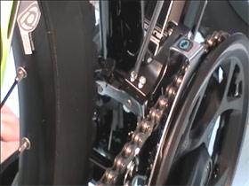 Регулировочный винт H переднего переключателя