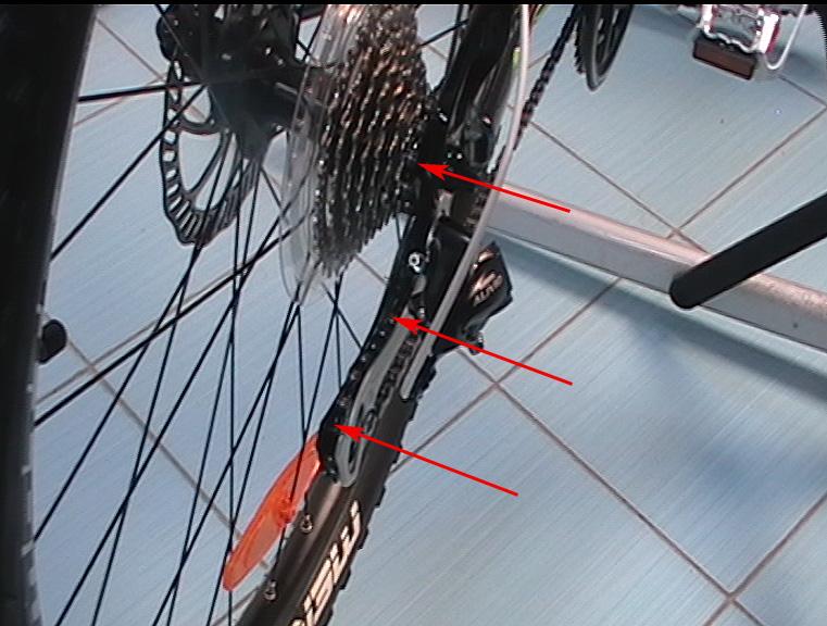 Что делать если цепь на велосипеде висит - 9d08