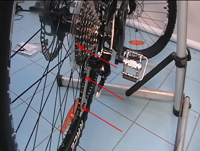 Что делать если цепь на велосипеде висит - 5517a